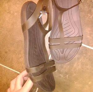 "Croc ""Sexi"" style Sandal size 8.5"